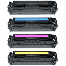 Set of 4 Compatible Canon 731 Laser Toner Cartridges for LBP-7100CN, LBP-7110CW, MF-8230CN, MF-8280CW | High Yield