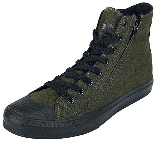 Black Premium by EMP Zip Sneaker Sneaker Oliv EU47 (Zip-sneaker-männer)