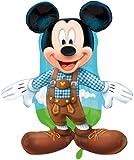 Ballonim Mickey Mouse Lederhose ca. 80cm Luftballons Folienballon Party DekorationGeburtstag