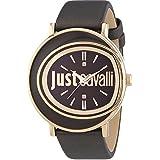 Just Cavalli Damen-Armbanduhr LAC Analog Quarz Leder R7251186509