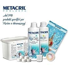 Starter Kit Oxi para tratamiento agua y mantenimiento de spa, jacuzzi y pequeña piscina a