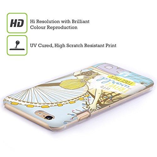 Head Case Designs Unbegrenztheitskleid Meine BFF Hüllen Ruckseite Hülle für Apple iPhone 5 / 5s / SE Blond