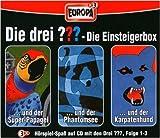 Hörspiel - Die Drei Fragezeichen ??? - Folge 01  - 3er Box und Folge 1 - 187
