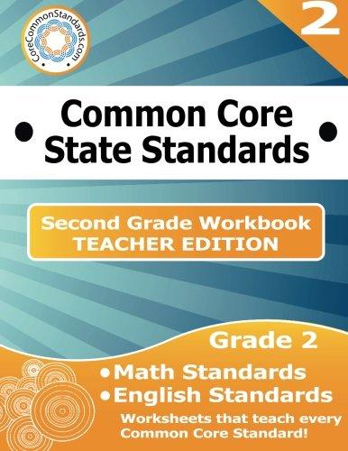 Second Grade Common Core Workbook - Teacher Edition