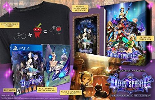 Atlus Odin Sphere Leifthrasir - Storybook Edition, PS4 - Juego (PS4, PlayStation 4, Soporte físico, Acción / RPG, Vanillaware, 7/06/2016, T (Teen))