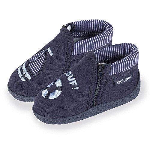 chaussons-bottillons-zip-garcon-bateau-isotoner-23