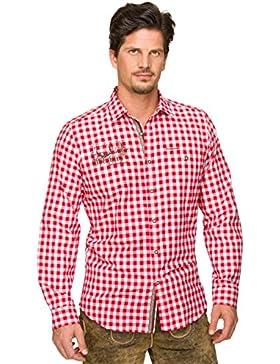 Stockerpoint Trachtenhemd Jim rot