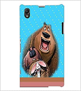 PrintDhaba Funny image D-4696 Back Case Cover for SONY XPERIA Z1 (Multi-Coloured)