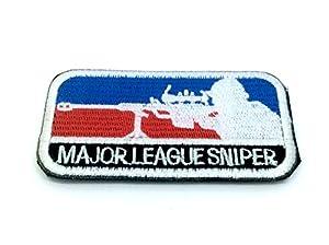 Major League Sniper Brodé Airsoft Morale Patch