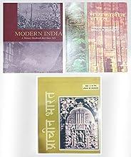 OLD NCERT Madhyakalin Bharat By Satish Chandra, Prachin Bharat By Ramsaran Sharma And Adhunik Bharat By Vipin