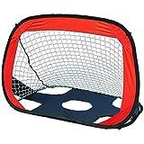 Mumoo Bear Kids Football net Soccer net Portable Foldable Dual-use Kids Soccer net for Indoor Outdoor Soccer Training with ba