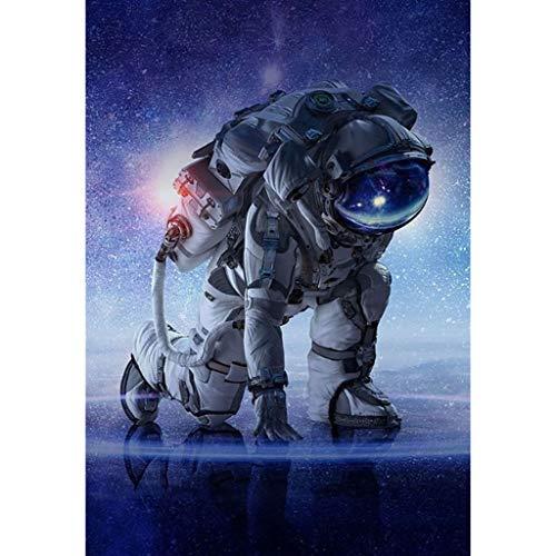 Xmansky Astronauta cósmico 5d diy Diamond pintura decoración de Kit de punto de cruz