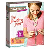 """CRAFTIVITY â€"""" Jewelry Jam â€"""" Complete Craft Project Kit â€"""" Create Your Own Sophisticated Shrink and Link Jewelry..."""