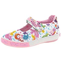 Lelli Kelly Mermaid Dolly Girls Canvas Shoes 12.5/31 Std Unless Stated in Colour White Fantasy