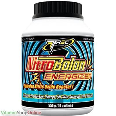 NITROBOLON ENERGIZER 550G booster nitric oxide power enrergy strength stimulation performance BY TREC NUTRITION M by TREC NUTRITION