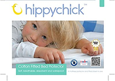 Hippychick Cotton Fitted Mattress Protector
