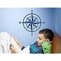 """I-love-Wandtattoo 11252 Wandtattoo Kinderzimmer """"Kompass"""""""
