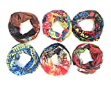 4 Bufanda mutiluso para cara y cuello,para motorista y ciclista ,4 colores diferentes