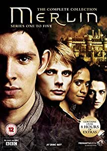 Merlin - The Complete Collection - Series 1-5 [DVD] [2008]