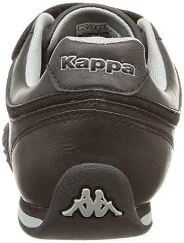 Kappa Mezzio, Herren Sneakers Schwarz (914/black/mid Grey)