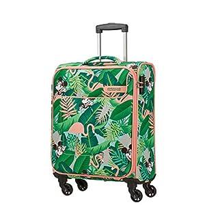 American Tourister Funshine Disney – Spinner S Equipaje de Mano, 55 cm, 36 L, Multicolor (Minnie Miami Palms)