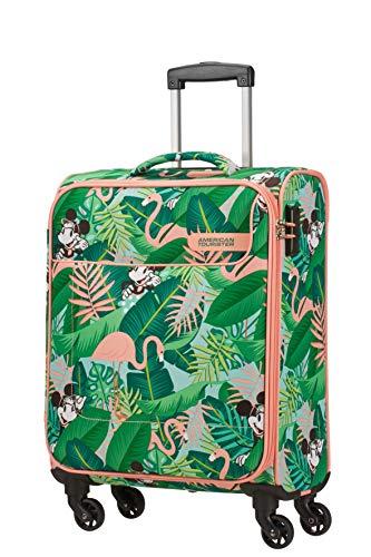 American Tourister Funshine Disney Bagaglio a Mano, 55 cm, 36 liters, Multicolore (Minnie Miami Palms)