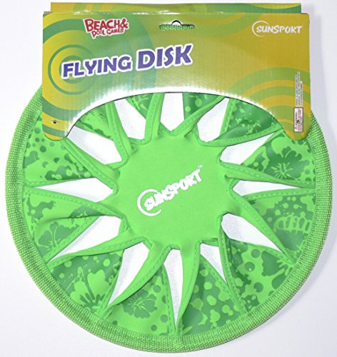 Preisvergleich Produktbild Sunsport 530-450 - Neopren Frisbee Flying Disc, grün