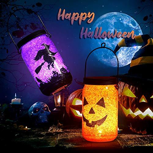 OUSFOT Linterna Calabza Portátil Halloween Luces