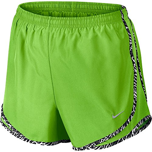 Nike Tempo Short pour femmes ACTION GREEN/BLACK/WOLF GREY