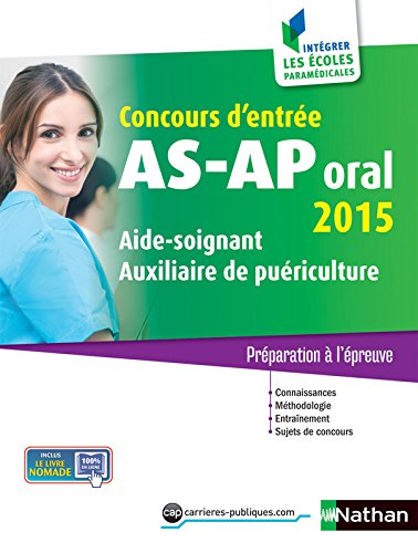 Concours AS-AP oral 2015 par Louisa Rebih-Jouhet