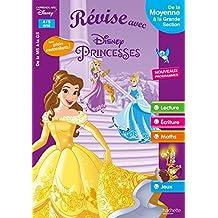 Révise avec les Princesses De la MS à la GS - Cahier de vacances