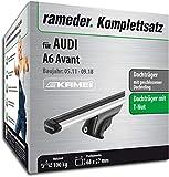 Rameder Komplettsatz, Dachträger Relingträger Kamei für Audi A6 Avant (135346-09627-4)