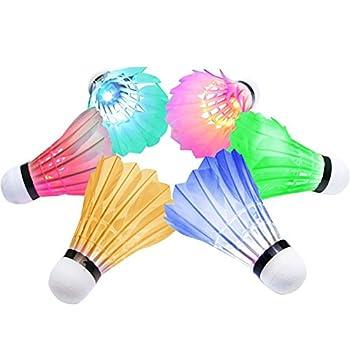 Volante de badminton con...