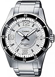Casio Mens Quartz Watch, Analog Display and Stainless Steel Strap MTP-1291D-7A