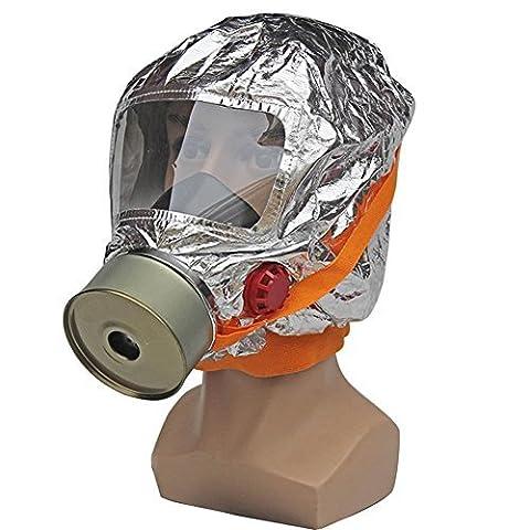 Babimax Masque de Securite Urgence Masque évasion Étanche Cagoule Incendie