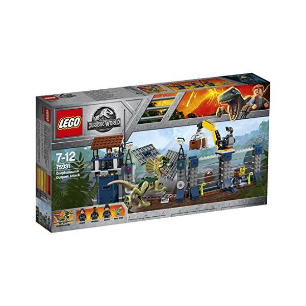 LEGO Jurassic World 75931 - Set di dinosauri 3 spesavip