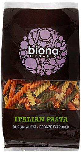 Biona Tri-Color Fusilli, 500 g