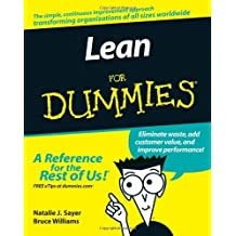 Lean For Dummies by Natalie J. Sayer (2007-03-06)