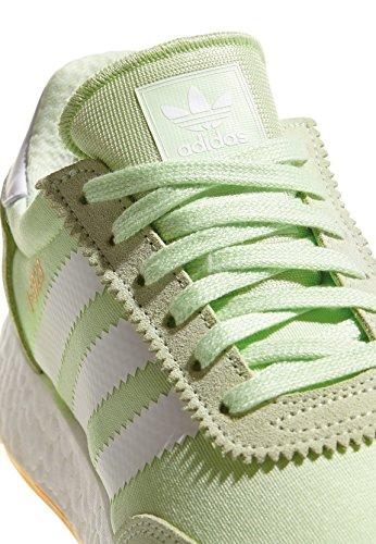 adidas Damen Iniki Runner W Gymnastikschuhe, Grün grün (Aerver/Ftwbla/Gum3 000)
