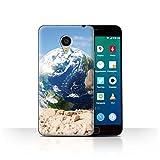 Stuff4 Hülle / Case für Meizu MX4 Pro / Erderwärmung