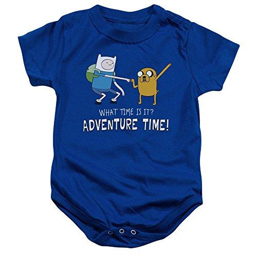 Adventure Time - - Toddler Fist Bump Strampelanzug, 24 Months, Royal Blue