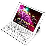 Inateck Ultra Slim Bluetooth Tastatur Hülle für iPad 2018(6. Generation), iPad...