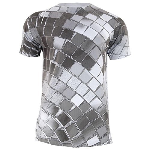 Old Glory Disco-Kugel Aller Erwachsenen T-Shirt-2 X-Large