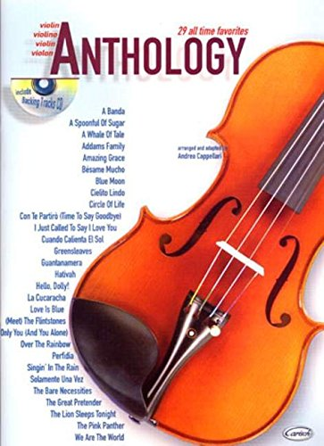 Anthology (Violin), Volume 1 (Anthology (Cappellari))
