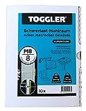 10 TOGGLER Hohlraumanker M8 10-64 mm Plattenstärke