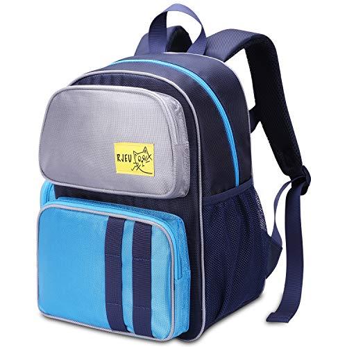 Kinderrucksack, RJEU 10 L Kinder Rucksäcke fur Kindergarten, Mädchen und Junge Mini Schule Rucksack mit Brustgurt