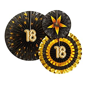 Neviti-773796Glitz y Glamour edad 18verde, negro/oro