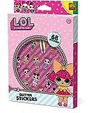 SES Creative Surprise L.O.L. Pegatinas de Brillantina Color Bunte Sticker 14191