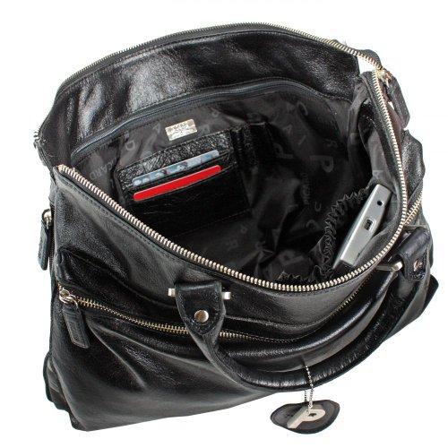 Picard Buddy Business-Tasche II Leder 41 cm Schwarz
