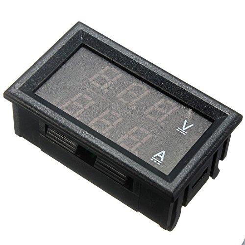 Preisvergleich Produktbild Generic DYHP-A10-CODE-5192-CLASS-1 Amp Dual Digital Volt ge Gital DC 100 V 10 A rot LE Voltmeter Amperemeter Messgerät Blau & V 10 A V -NV_1001005192-HP10-UK_1902